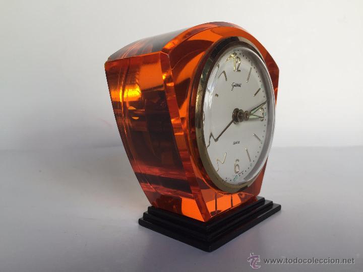 Relojes: RELOJ DESPERTADOR ALEMAN GOLDBUHL CARGA MANUAL AÑOS 50 60 - Foto 2 - 50027658
