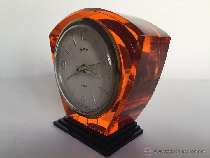 Relojes: RELOJ DESPERTADOR ALEMAN GOLDBUHL CARGA MANUAL AÑOS 50 60 - Foto 7 - 50027658