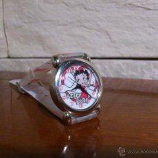 Relojes: BETTY BOOP - RELOJ DE PULSERA - ORIGINAL KFS/FS TM KFS - WATER RESISTANT - COMO NUEVO. Lote 50293367