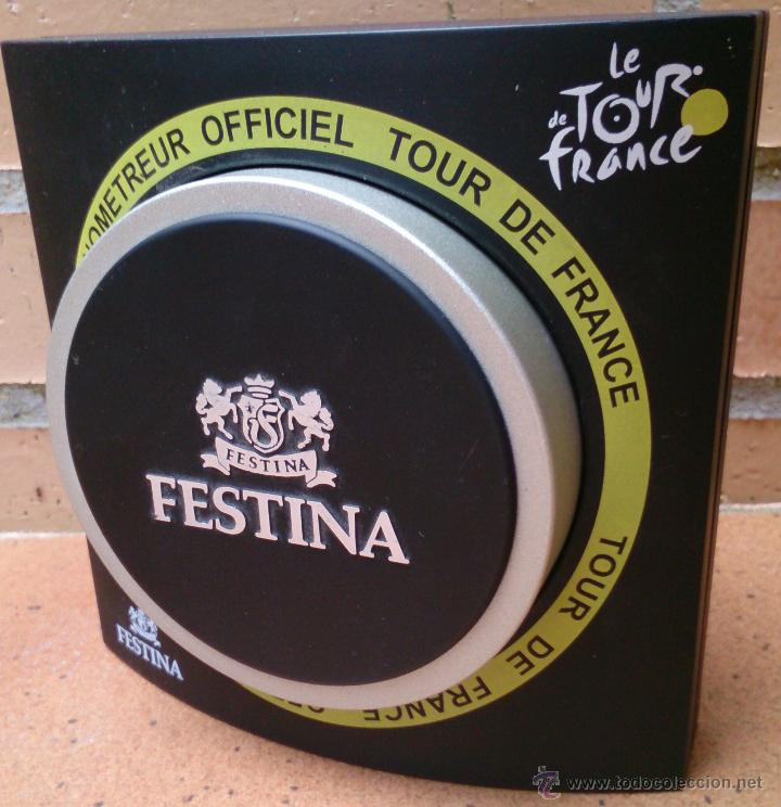 Reloj France Chronometreur Officiel De Tour Caja Festina wkuTPXOlZi