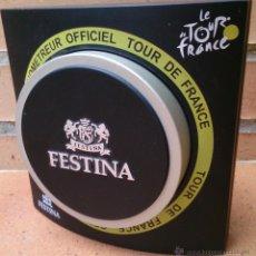 Relojes: CAJA RELOJ FESTINA CHRONOMETREUR OFFICIEL TOUR DE FRANCE . Lote 50476553