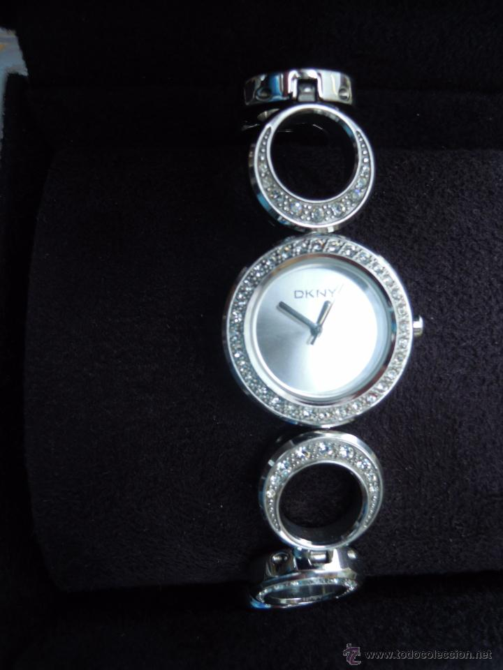 Karan Color Reloj De En Venta Donna Dkny Pulsera Vendido Plat K13FcJlTu