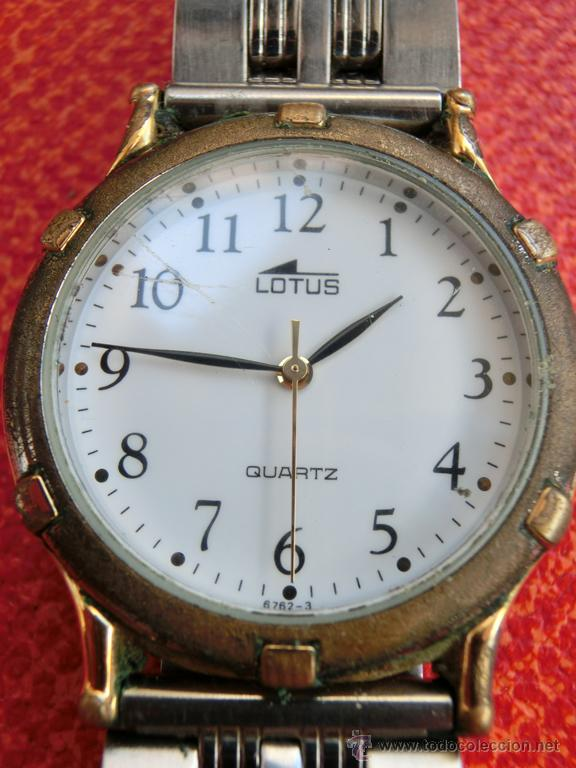 Relojes: LOTE DE TRES RELOJES - DOS DE PULSERA Y UNO DE DEDO - LOTUS - FABIAN LAR - SIX. QUARTZ - TITANIUM - Foto 2 - 50793635