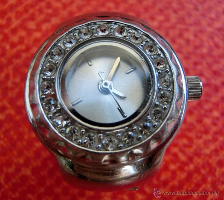 Relojes: LOTE DE TRES RELOJES - DOS DE PULSERA Y UNO DE DEDO - LOTUS - FABIAN LAR - SIX. QUARTZ - TITANIUM - Foto 4 - 50793635