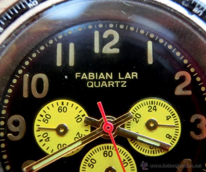 Relojes: LOTE DE TRES RELOJES - DOS DE PULSERA Y UNO DE DEDO - LOTUS - FABIAN LAR - SIX. QUARTZ - TITANIUM - Foto 9 - 50793635