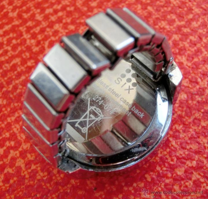 Relojes: LOTE DE TRES RELOJES - DOS DE PULSERA Y UNO DE DEDO - LOTUS - FABIAN LAR - SIX. QUARTZ - TITANIUM - Foto 10 - 50793635