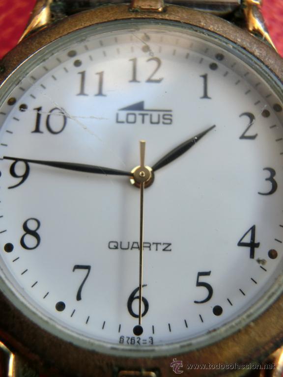 Relojes: LOTE DE TRES RELOJES - DOS DE PULSERA Y UNO DE DEDO - LOTUS - FABIAN LAR - SIX. QUARTZ - TITANIUM - Foto 14 - 50793635