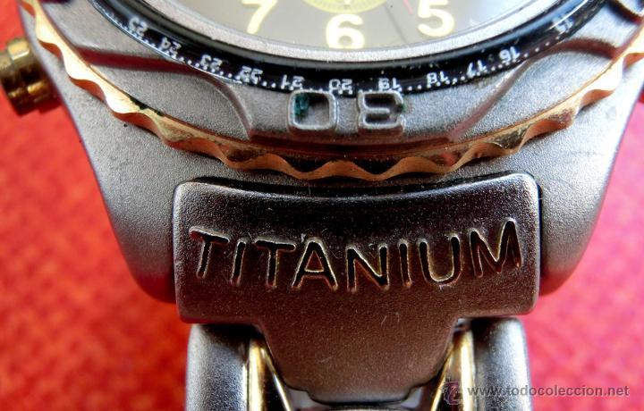 Relojes: LOTE DE TRES RELOJES - DOS DE PULSERA Y UNO DE DEDO - LOTUS - FABIAN LAR - SIX. QUARTZ - TITANIUM - Foto 15 - 50793635