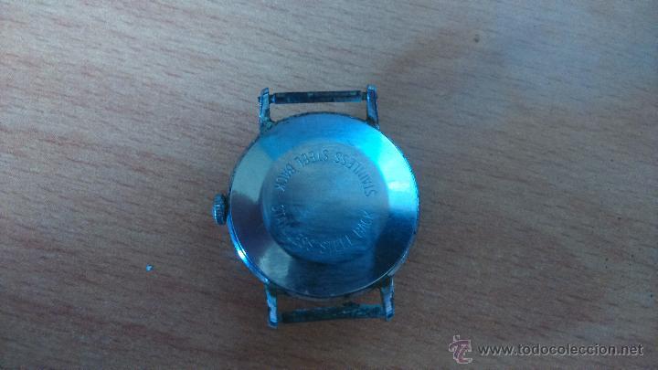 Relojes: reloj timex sport unisex water resistant stainless steel back no funciona - Foto 2 - 50979501