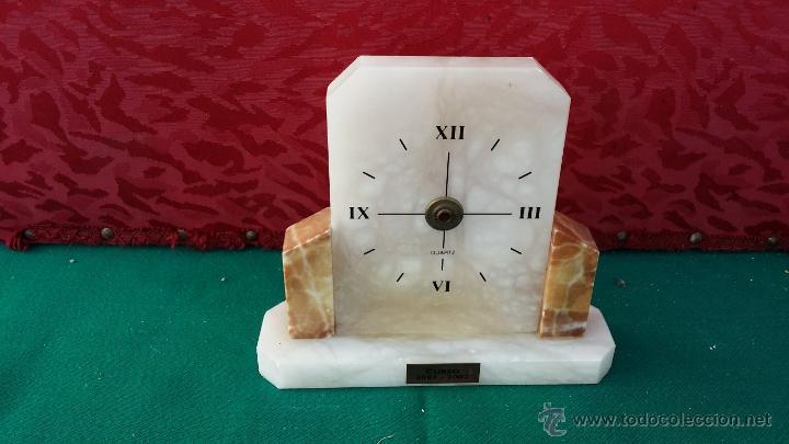 RELOJ DE ALABASTRO DECORACION (Relojes - Relojes Actuales - Otros)