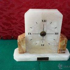 Relojes: RELOJ DE ALABASTRO DECORACION. Lote 51604295