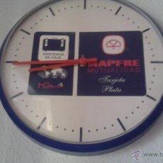 Relojes: RELOJ DE PARED PUBLICIDAD. Lote 51639337