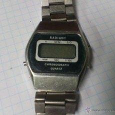 Relojes: RELOJ QUARTZ DIGITAL RADIANT AÑOS 80. Lote 52150430