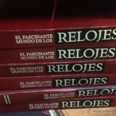 Relojes: EL FASCINANTE MUNDO DE LOS RELOJES, LA MEJOR ENCICLOPEDIA SOBRE RELOJES COMPLETA. Lote 52315330