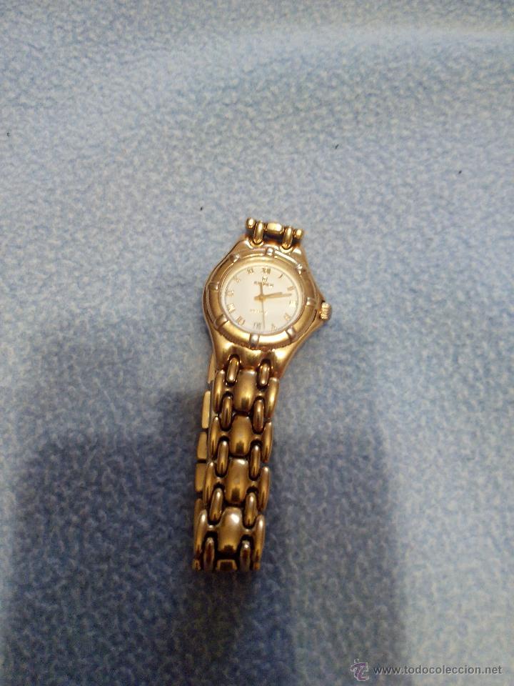 Relojes: Precioso reloj de señora marca kronos sapphire.marca hora y data,chapado en oro. Años 90 - Foto 2 - 52453851