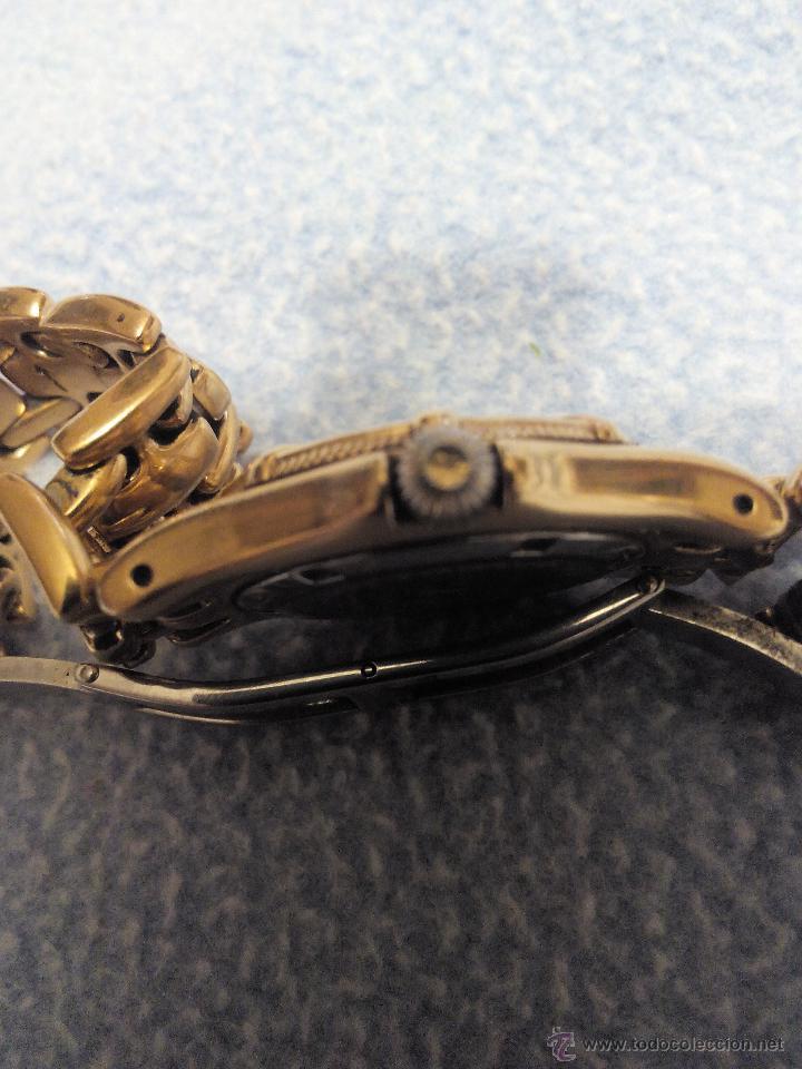 Relojes: Precioso reloj de señora marca kronos sapphire.marca hora y data,chapado en oro. Años 90 - Foto 5 - 52453851