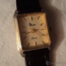 Relojes: RELOJ DE PULSERA MARCA MICRO, TODO ORIGINAL. NO SE EXACTO EL AÑO PERO DE LOS 70 U 80. Lote 52518842
