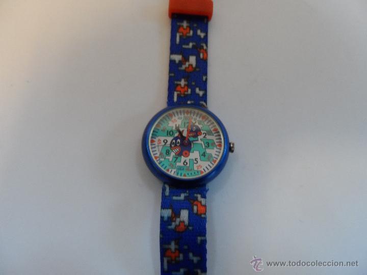 3619021bdb27 Reloj flik flak quartz.coleccion niño.swatch.añ - Vendido en Venta ...