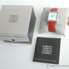 Relojes: RELOJ DE ROBERTO TORRETTA, A ESTRENAR. Lote 53304027