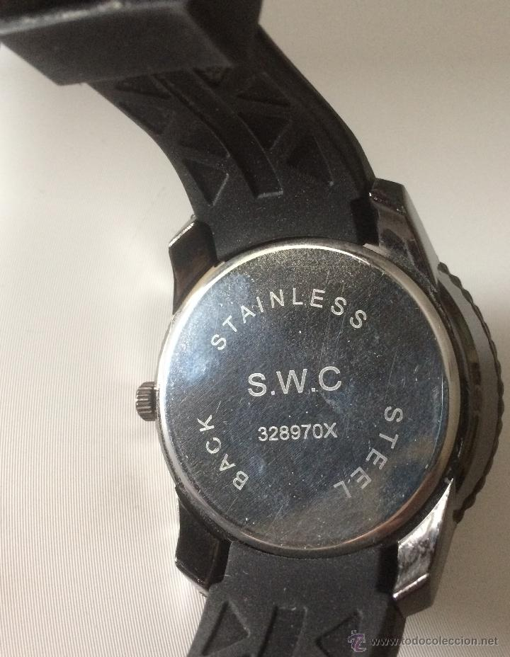 Relojes: Reloj de pulsera S.W.C. Calavera. Gran tamaño. Acero, alta calidad. - Foto 4 - 53304154