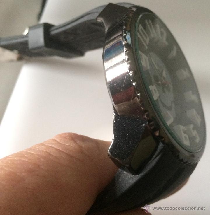 Relojes: Reloj de pulsera S.W.C. Calavera. Gran tamaño. Acero, alta calidad. - Foto 5 - 53304154
