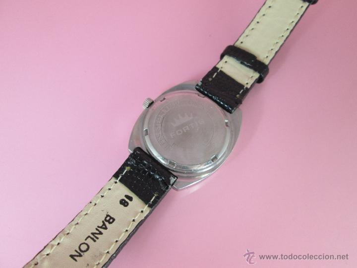 Relojes: RELOJ-FORTIS-FUNCIONANDO-VER FOTOS. - Foto 2 - 178827970