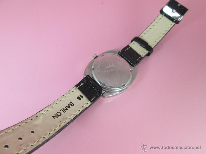 Relojes: RELOJ-FORTIS-FUNCIONANDO-VER FOTOS. - Foto 4 - 178827970