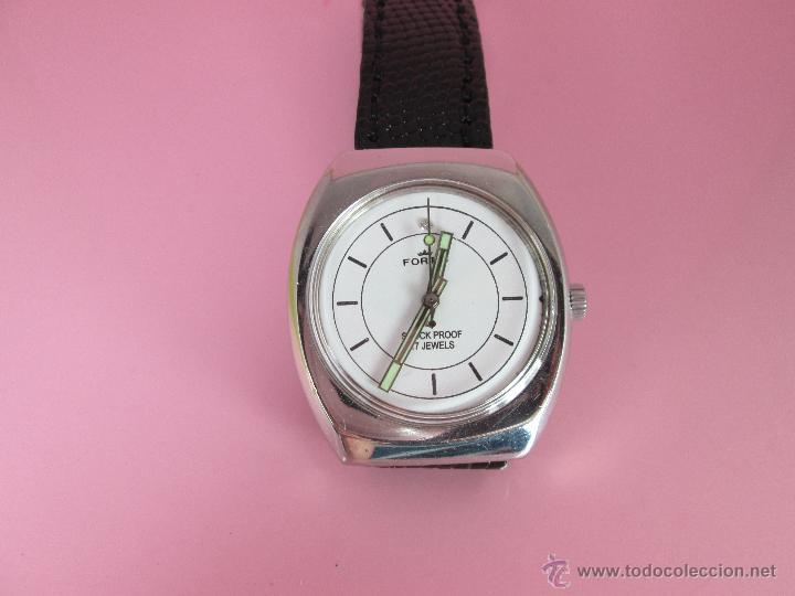 Relojes: RELOJ-FORTIS-FUNCIONANDO-VER FOTOS. - Foto 7 - 178827970