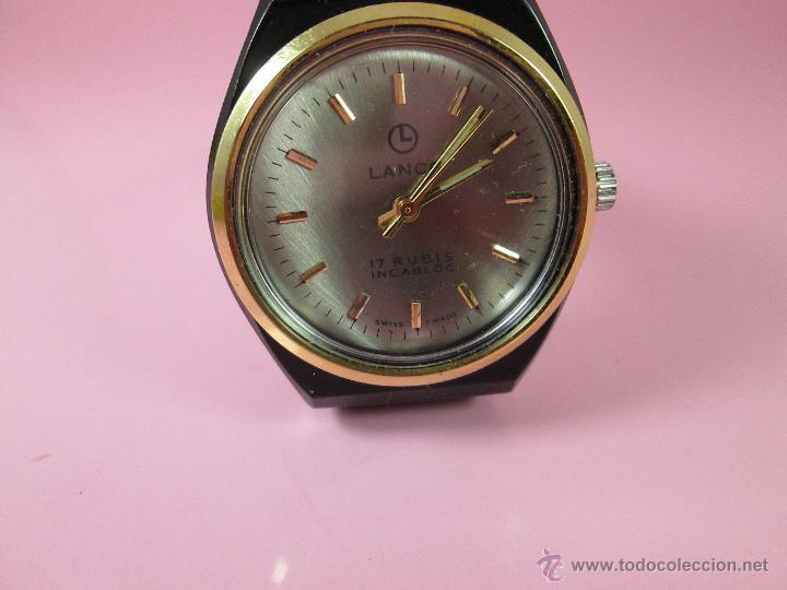 Relojes: ANTIGUO RELOJ-SUIZO-LANCO-FUNCIONANDO PERFECTAMENTE-VER FOTOS. - Foto 4 - 53557518