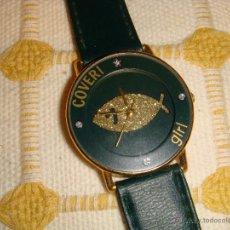 Relojes: ORIGINAL RELOJ COVERI GIRL VERDE CON PEZ. Lote 53716655