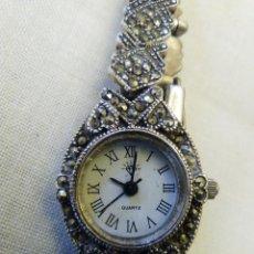 Relojes: RELOJ JOYA DE SEÑORA DE PLATA 925 CORREA Y CAJA, EXCEPTO TAPA QUE ES DE ACERO. Lote 53892554