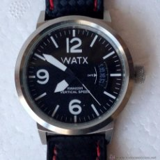 Relojes: RELOJ PULSERA WATX VERTICAL SPEED. Lote 54001329