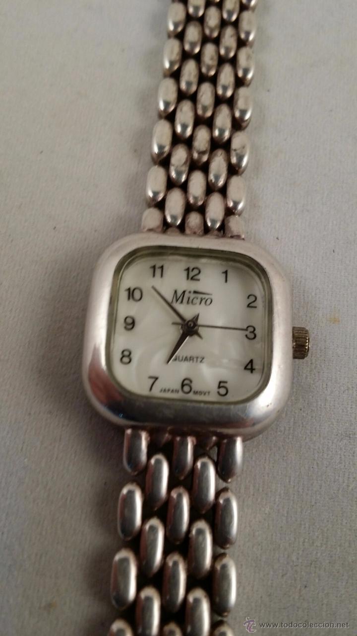 Reloj de se ora micro con caja y cadena en una comprar - Reloj de cadena ...