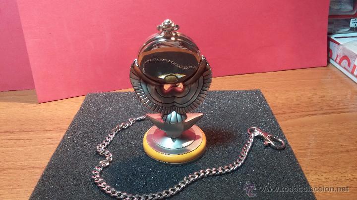 Relojes: Reloj de bolsillo estilo vintage Harley Davison con cadena y relojera para el mismo - Foto 15 - 54619934