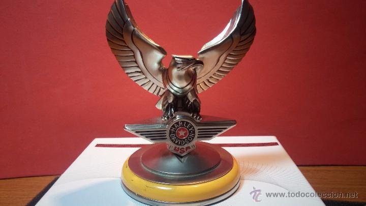 Relojes: Reloj de bolsillo estilo vintage Harley Davison con cadena y relojera para el mismo - Foto 19 - 54619934