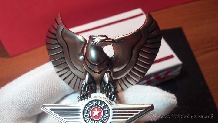 Relojes: Reloj de bolsillo estilo vintage Harley Davison con cadena y relojera para el mismo - Foto 31 - 54619934