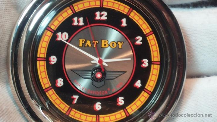 Relojes: Reloj de bolsillo estilo vintage Harley Davison con cadena y relojera para el mismo - Foto 39 - 54619934