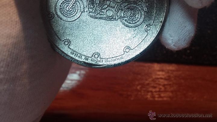 Relojes: Reloj de bolsillo estilo vintage Harley Davison con cadena y relojera para el mismo - Foto 47 - 54619934