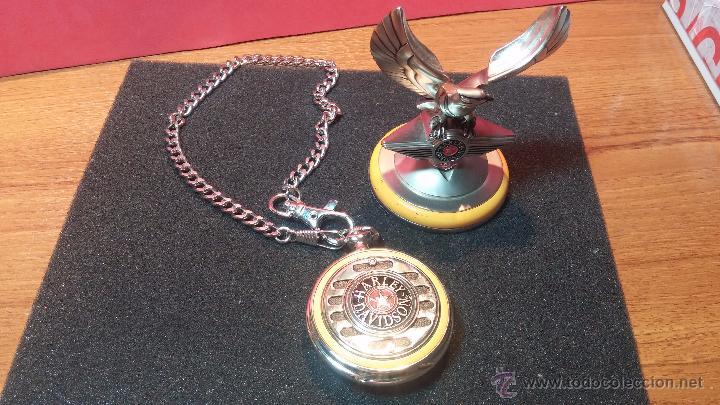 Relojes: Reloj de bolsillo estilo vintage Harley Davison con cadena y relojera para el mismo - Foto 57 - 54619934
