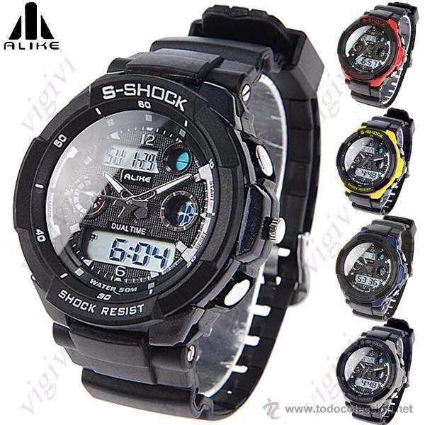 6448942e78f0 reloj alike impermeable 50m deportivo de cuarzo - Comprar Relojes ...