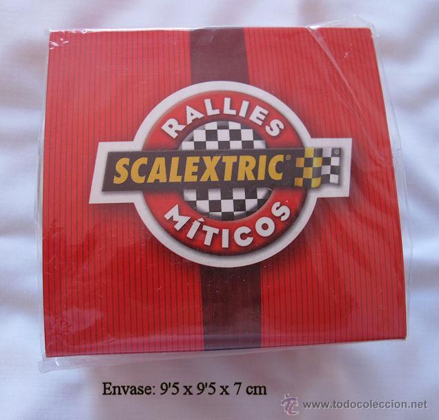 RELOJ DE COLECCION SCALEXTRIC RALLIES MITICOS EDICION ESPECIAL (Relojes - Relojes Actuales - Otros)