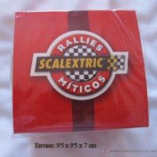Relojes: RELOJ DE COLECCION SCALEXTRIC RALLIES MITICOS EDICION ESPECIAL. Lote 182486943