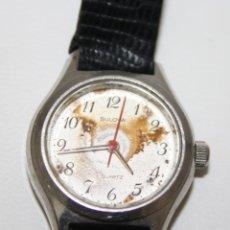 Relojes: RE256 RELOJ BULOVA QUARTZ - MUJER - CAJA DE ACERO - LA ESFERA PRECISA LIMPIEZA. Lote 45639885