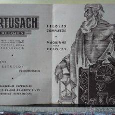 Relojes: ANTIGUA PROPAGANDA DE RELOJES PORTUSACH. Lote 55032386