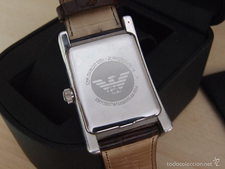 47daf55a9c78 Relojes  Emporio Armani Classic AR0154 - Reloj analógico de cuarzo para  hombre
