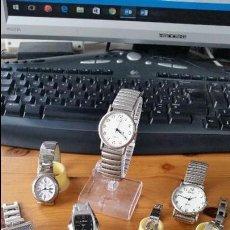 Relojes: LOTE DE 7 RELOJES DE VARIAS MARCAS. Lote 56330357