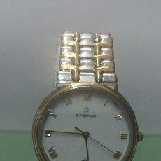 Relojes: RELOJ DE CABALLERO ETERNA DE CUARZO CON CORREA DE ACERO BICOLOR. Lote 56599777
