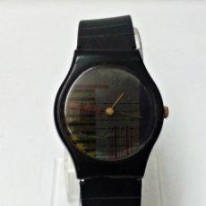 Relojes: RELOJ PUBLICITARIO POLAROID NEGRO. Lote 56657830