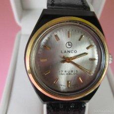 Relojes: ANTIGUO RELOJ-SUIZO-LANCO-FUNCIONANDO PERFECTAMENTE-VER FOTOS.. Lote 53557518