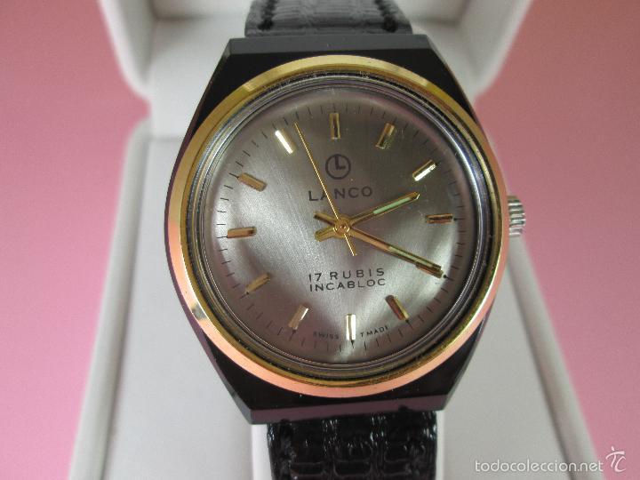 Relojes: ANTIGUO RELOJ-SUIZO-LANCO-FUNCIONANDO PERFECTAMENTE-VER FOTOS. - Foto 9 - 53557518